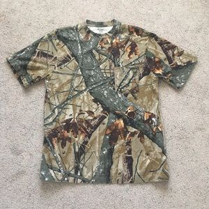 Camo One Pocket T-Shirt
